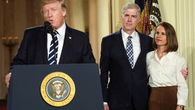 Trump Supreme Court announcement was Tuesday evening's most-watched TV show