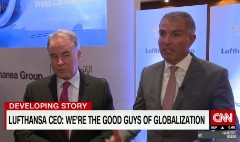 Lufthansa CEO: Airlines are the 'good guys of globalization'
