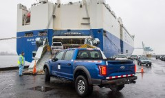 Ford ships Raptor pickups to China