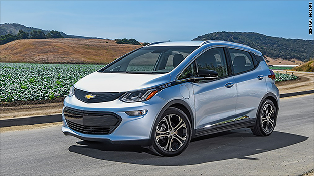 Chevy Bolt EV named Top Safety Pick