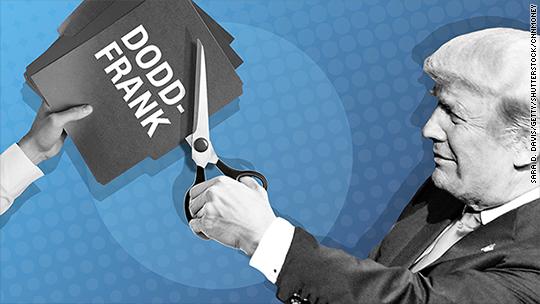 Trump signs orders that take aim at Dodd-Frank