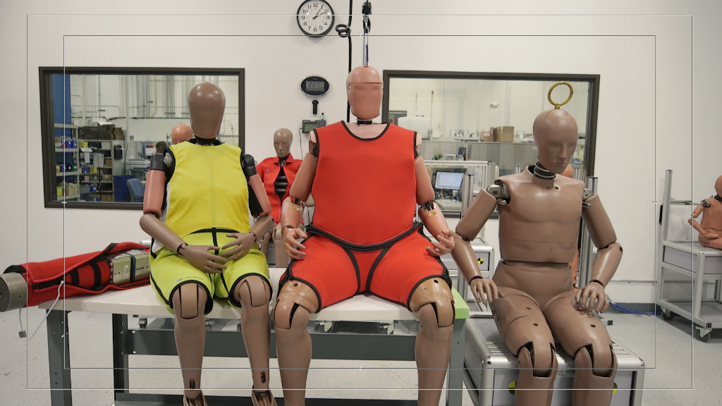 Crash dummies are getting 'supersized' to resemble obese drivers