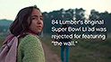 Rejected Super Bowl ad features border wall ... with a door in it