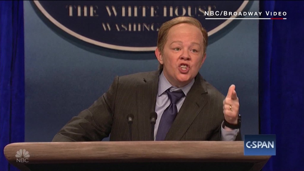 Melissa McCarthy's Comical Impersonation Of Sean Spicer On 'SNL'