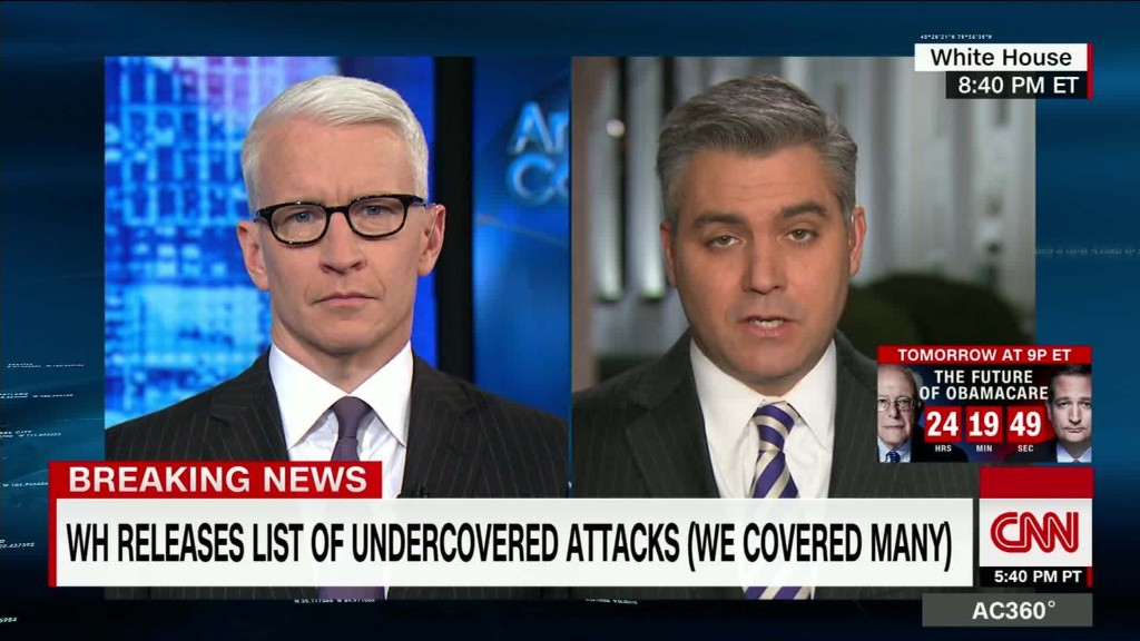 Cooper: I know we covered attacks, I was there
