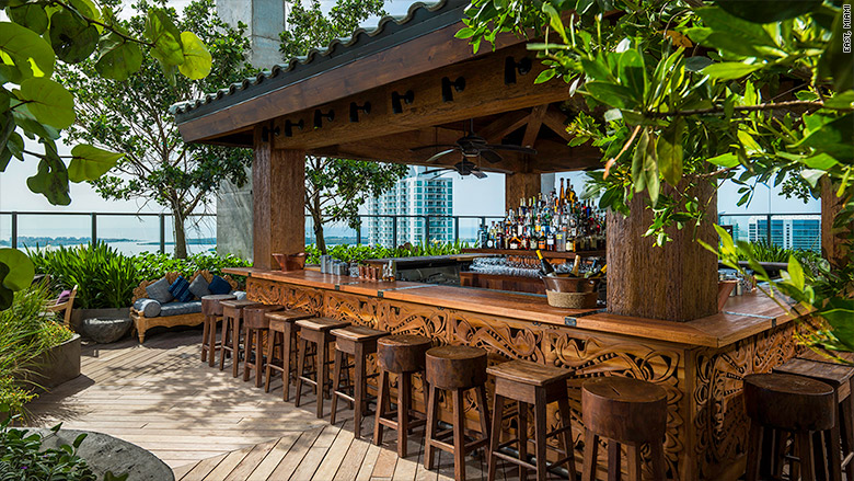 Sugar At East Hotel Miami Florida Coolest Hotel Bars