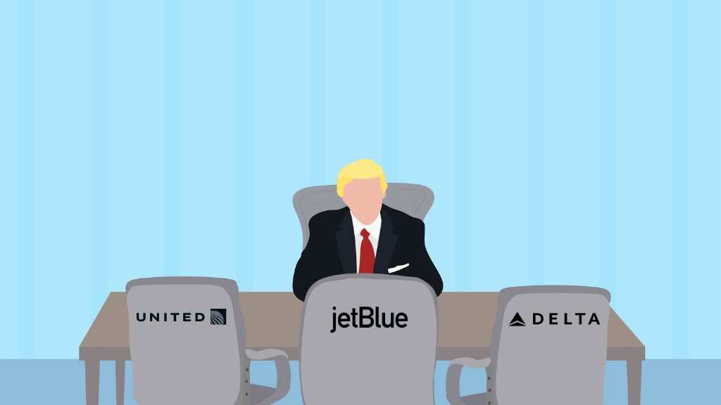 Trump meets with airline execs