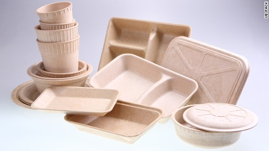 This company makes food packaging out of bamboo