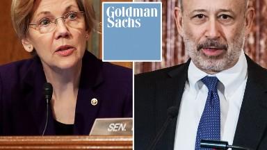 Elizabeth Warren probes Goldman Sachs' ties to Trump White House