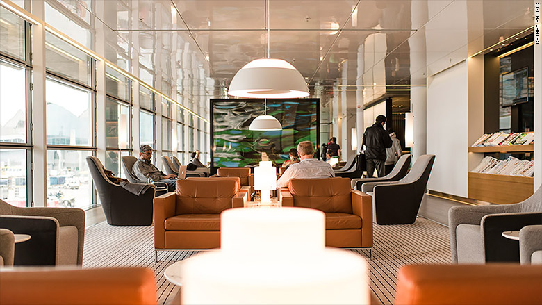 Cathay Pacific Best Business Class Airline Lounges