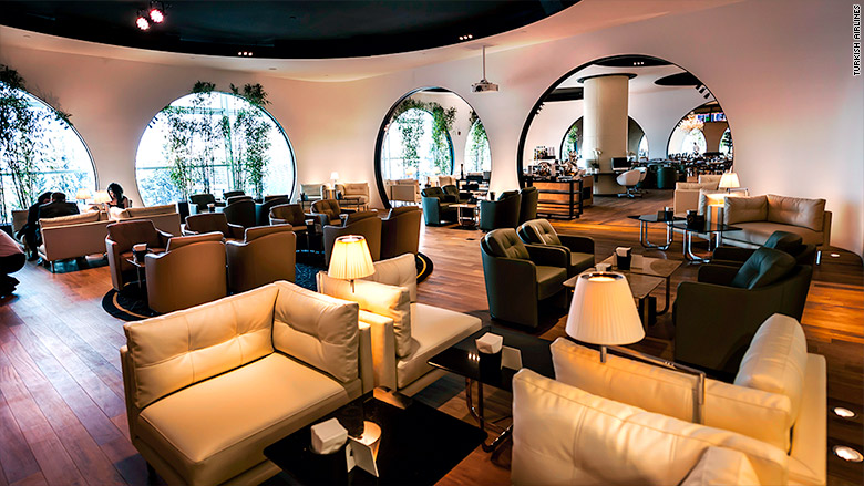 best airport lounges turkish airlines istanbul