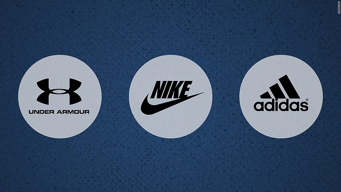 adidas vs nike vs under armour