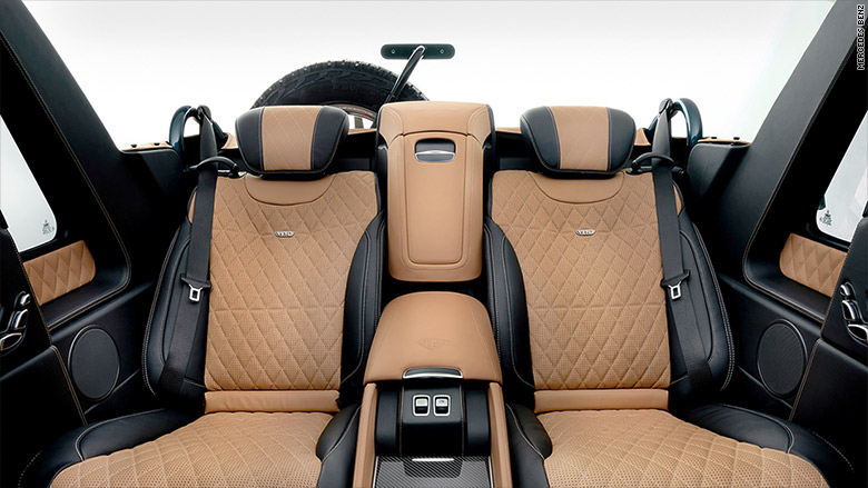 mercedes maybach g650 interior