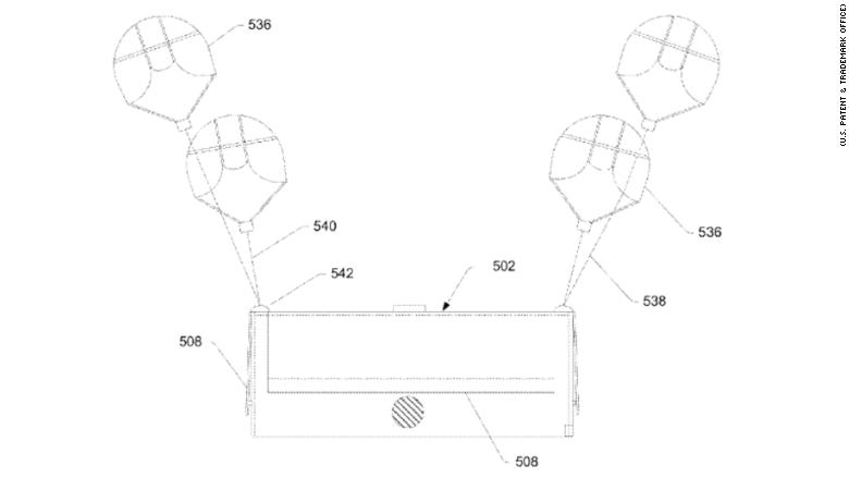 amazon drone patent 5