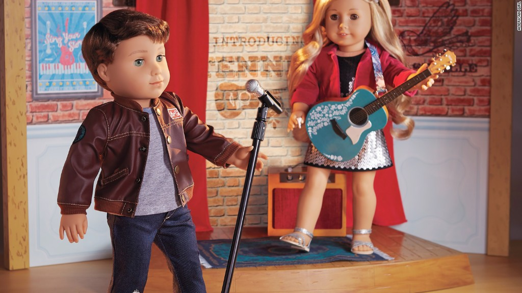 American Girl's new doll is...a boy?