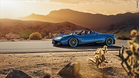 Pagani reveals $2.4 million convertible