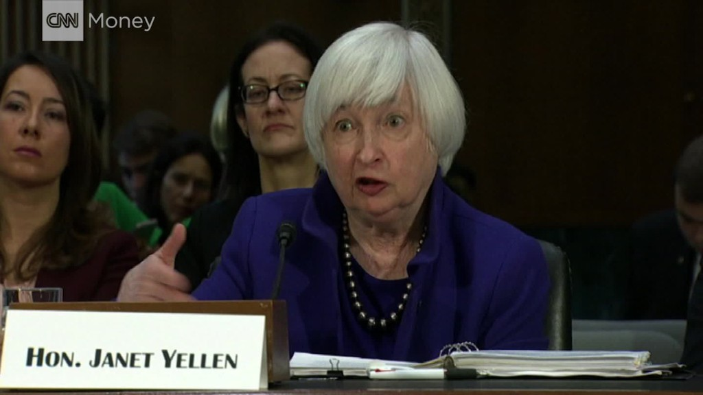 Yellen: U.S. banks are lending and globally competitive