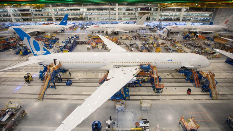 boeing 787 assembly south carolina