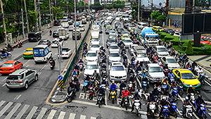 Worst cities for rush hour traffic