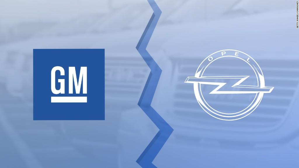 GM selling its European business in $2.3 billion deal