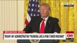 Trump: Press illegally gets information
