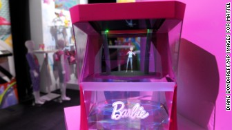 barbie hologram