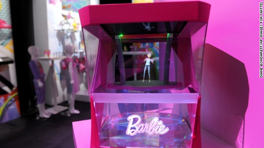 There is a toy glut and Barbies aren't selling