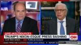 "On Media, Trump's ""worse than Nixon"""