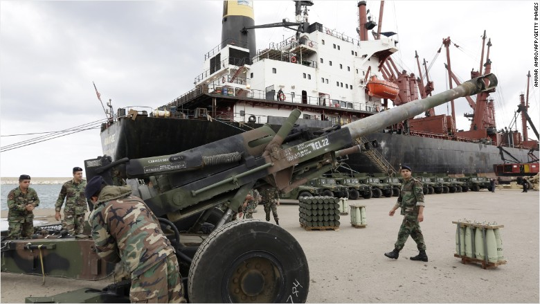 SIPRI: Arms imports rise in Asia, Middle East