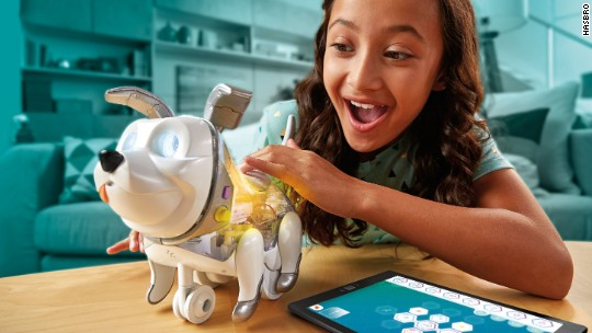 Toy fair debuts holograms, robotic animals, dolls for boys