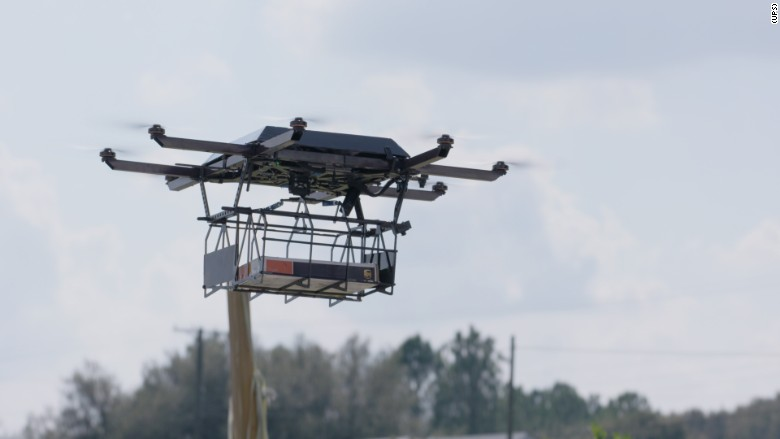 UPS Second Drone Mission Comes As Amazon AMZN Invests Heavily In Building Its Own Delivery Network Including Drones Capable Of Dropping Packages