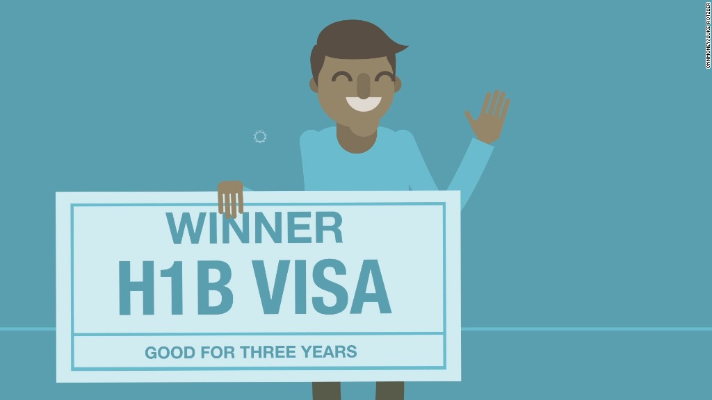 H-1B visas by the numbers