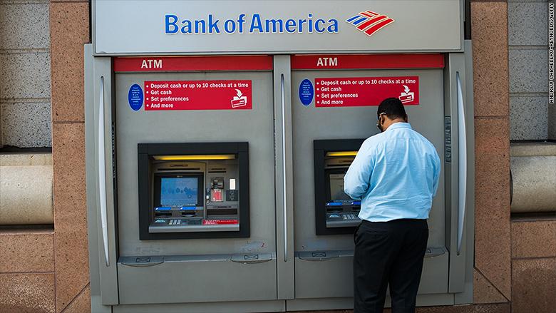 bank of america atm overdraft