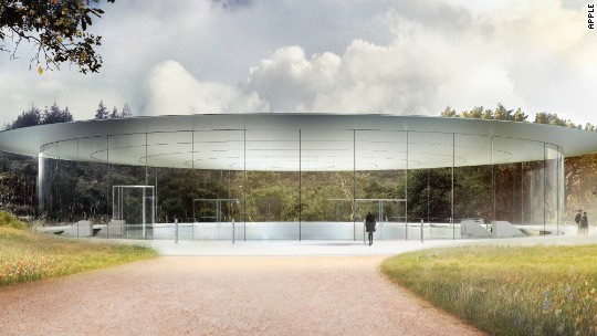 Apple's spaceship campus will open in April