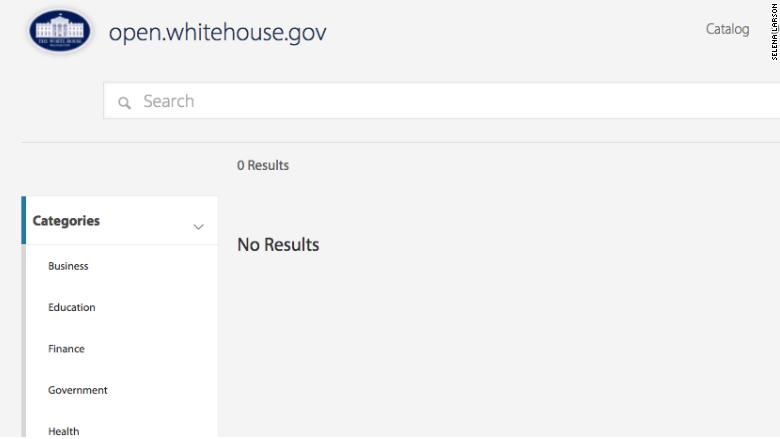 open gov deleted