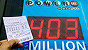 $403 million Powerball jackpot is the 10th largest ever