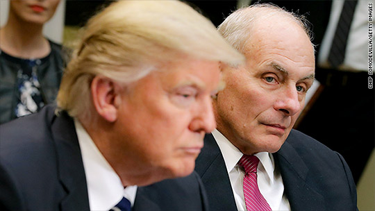 Trump says trade with Mexico is 'unbelievably bad.' Kelly says it's 'dynamic.'