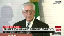 U.S. cabinet secretaries attempt diplomacy in Mexico