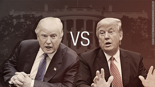 Trump vs. Trump: Who to believe on the global economy?