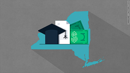New York just OK'd tuition-free college for middle class