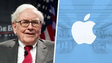 Apple is now one of Warren Buffett's top stocks