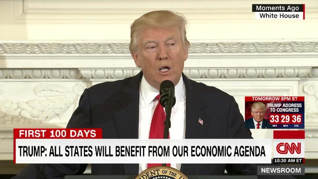 Trump: All states will benefit from economic agenda
