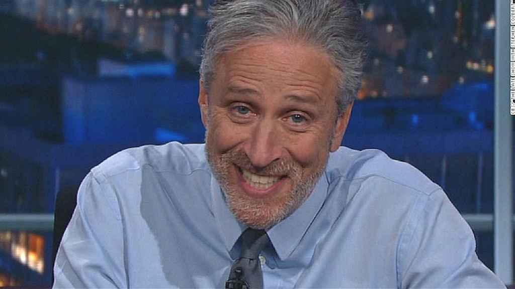 Jon Stewart's message for the media: Stop whining about Trump