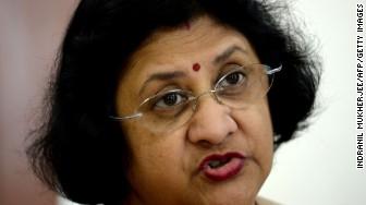 arundhati bhattacharya india sbi