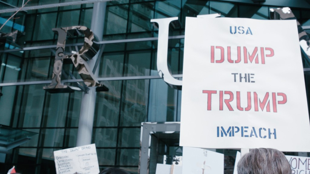 Trump International Vancouver opens amidst protests