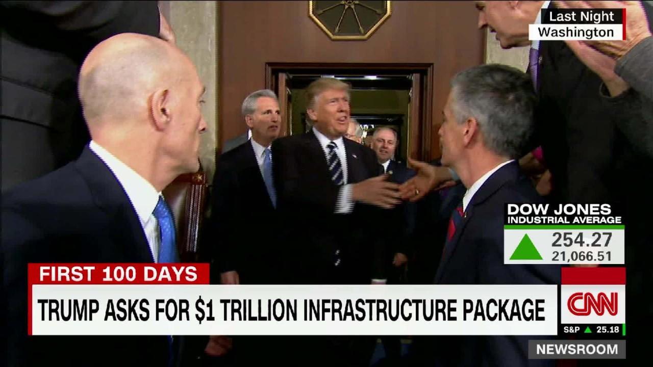 Analyzing Trump's $1 trillion infrastructure promise ... Jessica Alba Honest Company