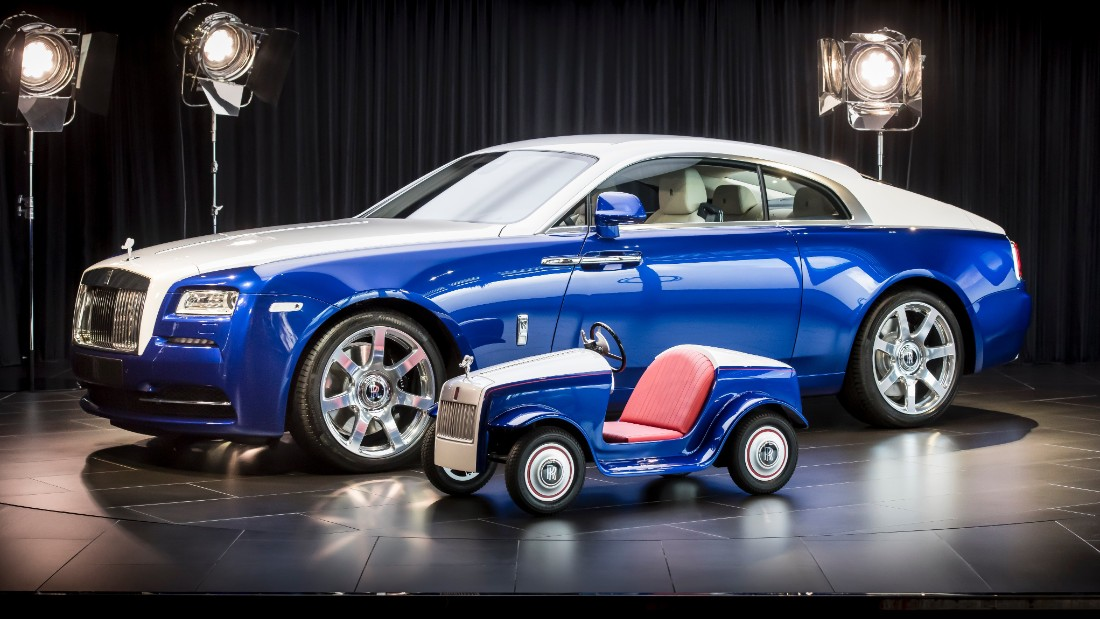 Rolls-Royce makes a mini-Rolls for sick kids - Mar. 1, 2017