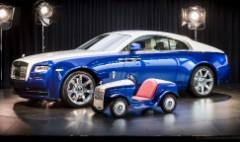 Big reveal for little Rolls-Royce