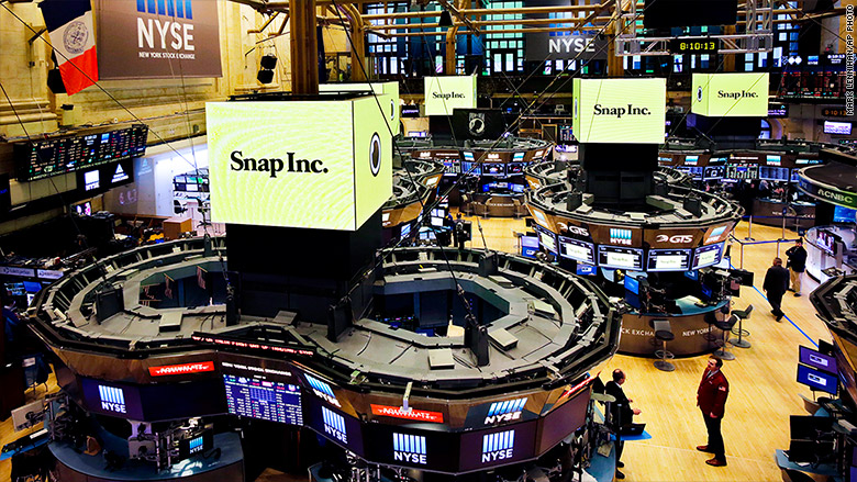 snap inc nyse floor