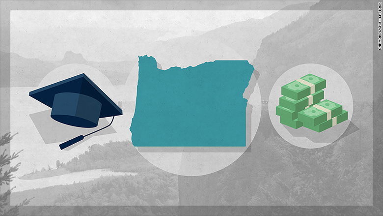 Oregon promised free tuition. Now it's cutting back
